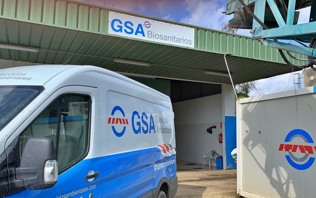 GSA adapta en tiempo récord una planta de tratamiento de residuos biosanitarios del COVID-19 en Sevilla