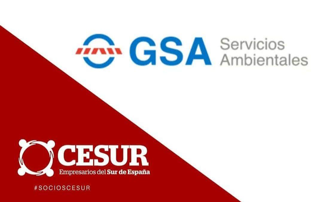 GSA Servicios Ambientales, nuevo miembro de CESUR