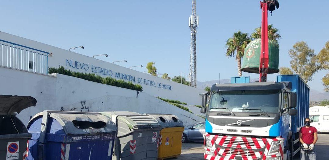 GSA recogerá el vidrio de Motril y consolida su actividad medioambiental en la provincia de Granada
