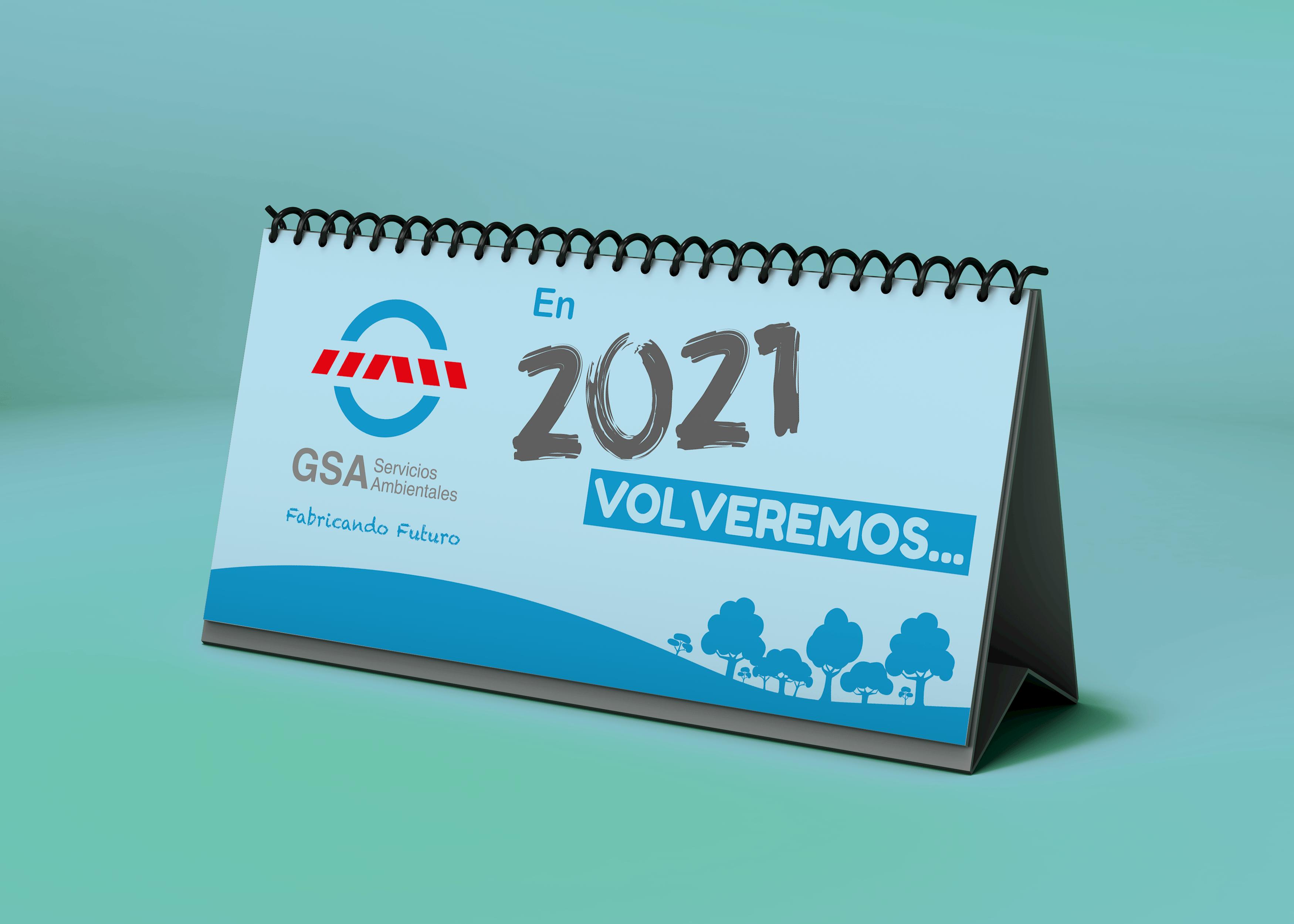 calendario 2021 GSA