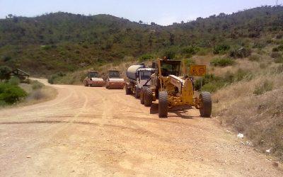 GSA participa en la mejora de caminos rurales en los montes de Sevilla