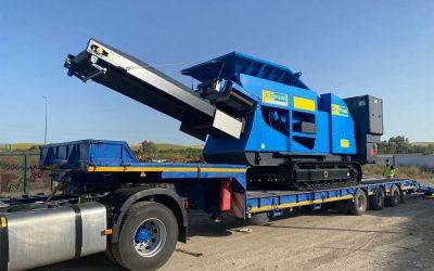 GSA entrega maquinaria a la administración para la planta de tratamiento de residuos de construcción y demolición de El Gastor