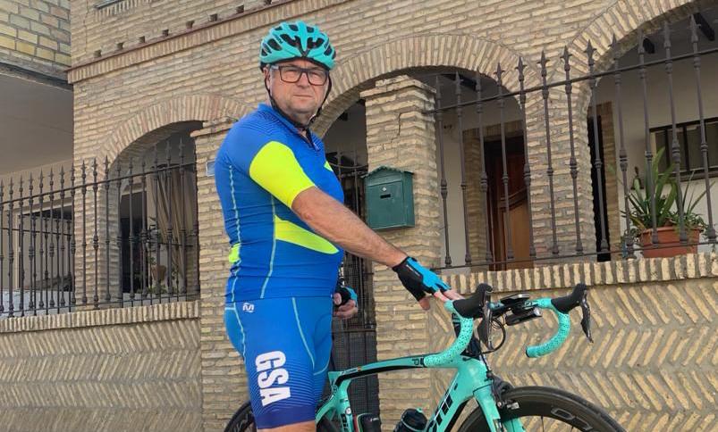 """""""Es un orgullo que GSA apoye el deporte y causas que aúnan la bicicleta con fines sociales"""""""