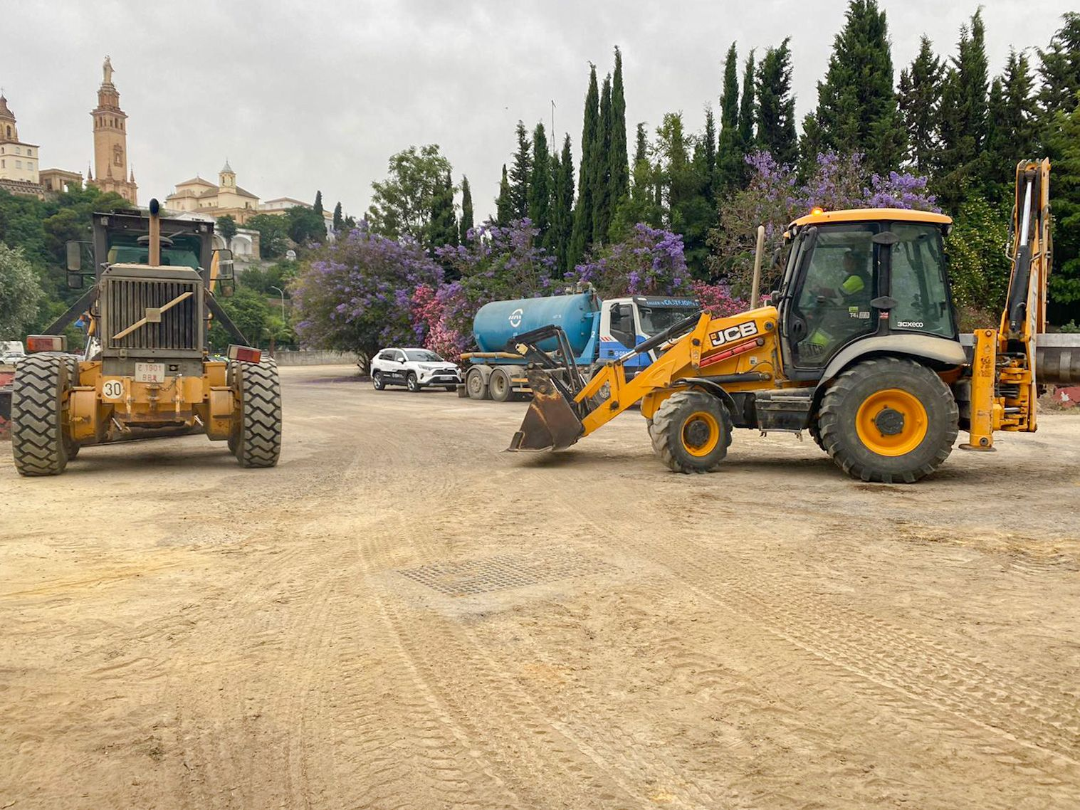 GSA acondiciona 15 kilómetros de caminos rurales en el área metropolitana de Sevilla