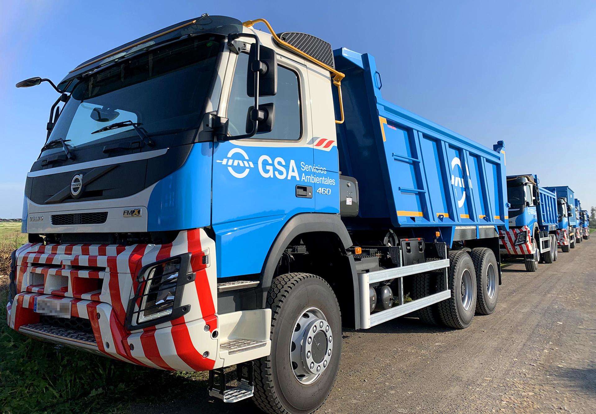 GSA invierte más de tres millones de euros en la renovación de su flota