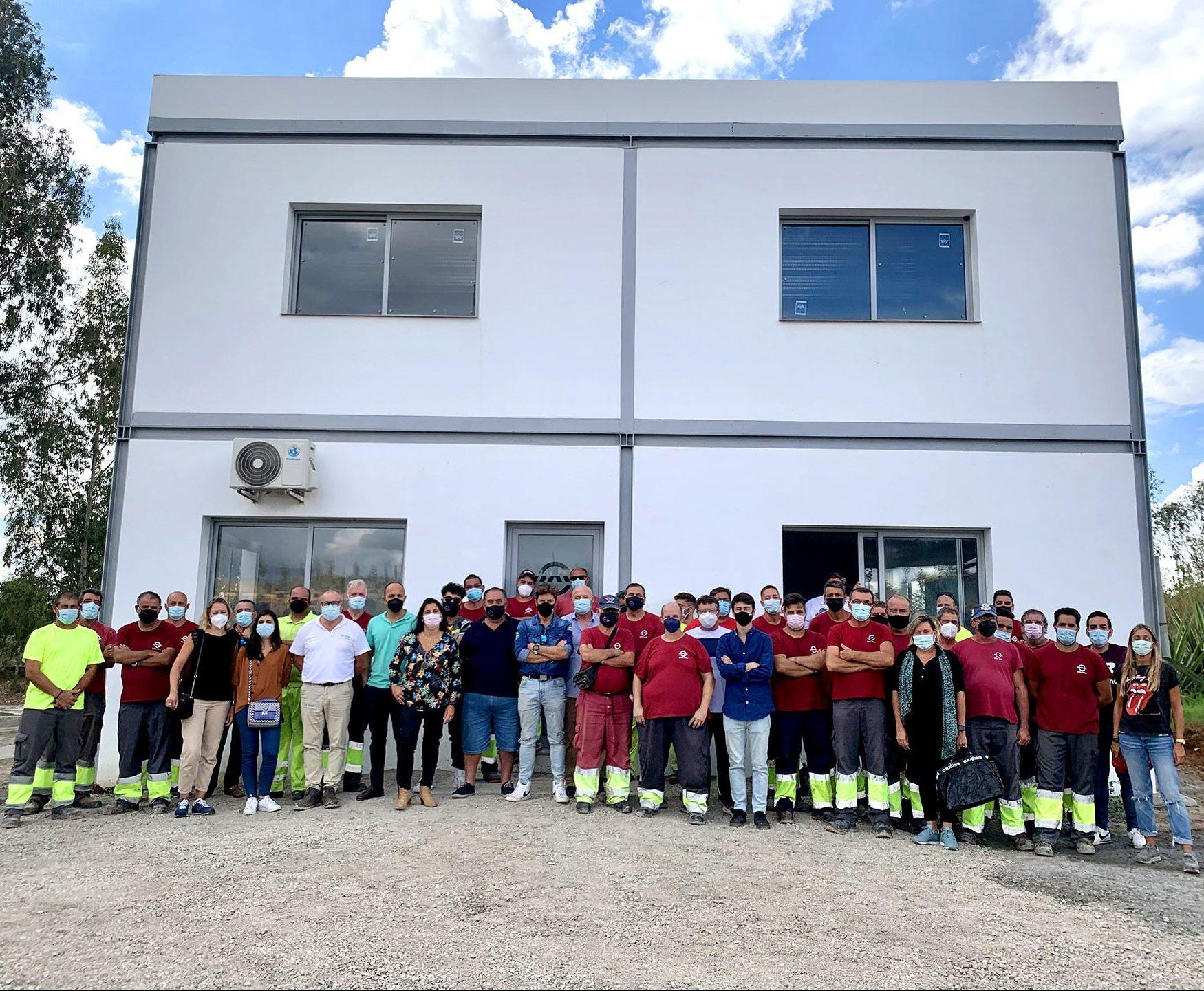 GSA inaugura su nuevo edificio para empleados en Sevilla